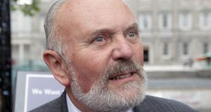 "Senator David Norris: ""the Government's sleight of hand, dishonesty, manipulation, Machiavellian conniving and use of corruption – in every sense of the word – will backfire on it."" Photograph: Niall Carson/PA Wire"