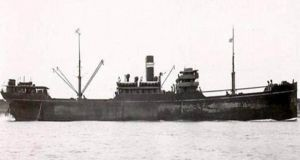 The SS Gairsoppa was on its way from Calcutta to Liverpool with a consignment of silver to aid the British war effort in February 1941 when it was hit by a torpedo and sank.