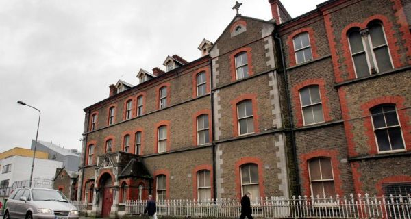 The exterior of the former Sisters of Our Lady of Charity Magdalene Laundry on Sean McDermott Street in Dublin's north inner city. Photograph: Julien Behal/PA Wire