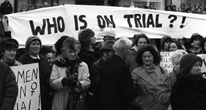 Image from Rose Comiskey's Against the Tide PhotoIreland Festival exhibition: a  protest in Kerry
