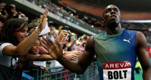 "Usain Bolt: ""You have to be very careful as an athlete because right now there are a lot of things on the banned list."""