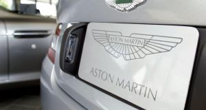 Daimler is taking a 5 per cent stake in Aston Marting: Photo: Getty Images