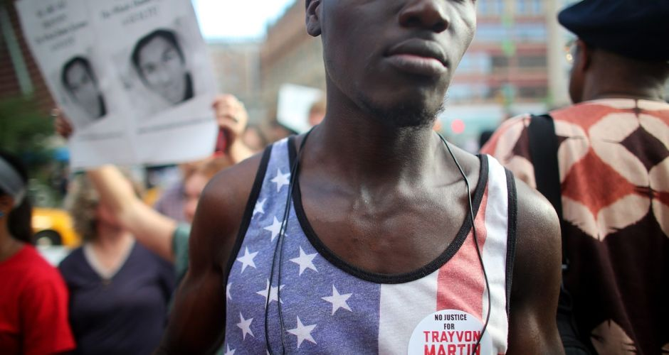 Rallies over Trayvon Martin trial