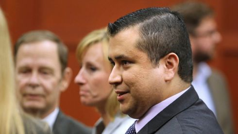 George Zimmerman leaves court after being acquitted on July 13th in Sanford, Florida over the killing of Trayvon Martin. Photograph: Joe Burbank/Pool via The New York Times