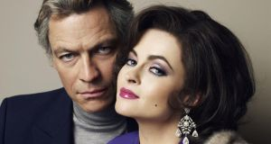 Meeting their match: Dominic West and Helena Bonham Carter in Burton and Taylor