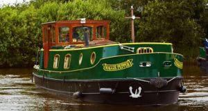 Maggie Pepper barge of Riversdale Barge Holidays