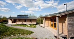 Ecocabins at Gortbrack Farm in Co Kerry