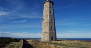 The 18th-century Wicklow Head Lighthouse, which accommodates four people in six octagonal rooms overlooking the Irish Sea
