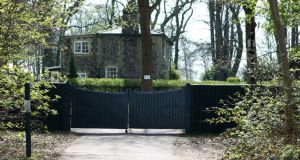A general view of the entrance to the Moulton Paddocks Estates in Newmarket, Suffolk. Photograph:  Chris Radburn/PA Wire
