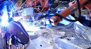 Manufacturing companies made up under 6 per cent of all enterprises  in 2011, excluding food and beverage producers. Photograph: Getty Images