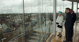 1. Guinness Storehouse had 	1,087,209 visitors. Queen Elizabeth II and Prince Philip, Duke of Edinburgh visited the attraction in 2011. Photograph: Tim Rooke-Pool/Getty Images