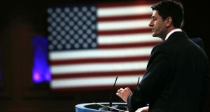 Republican senator Paul Ryan who is trying to rally support for immigration reform. Photograph: Alex Wong/Getty Images