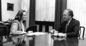 "The late Charles Haughey, who told Geraldine Kennedy in 1980 he was ""hopeful"" of seeing a united Ireland in his lifetime. There seems little general enthusiasm now for Sinn Féin's idea of a Border poll. Photograph: Peter Thursfield"