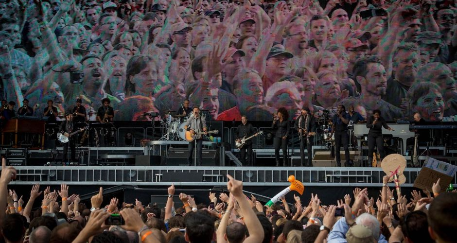 Bruce Springsteen plays Kilkenny.