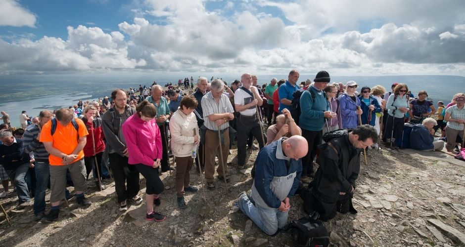 Reek Sunday pilgrimage on Croagh Patrick