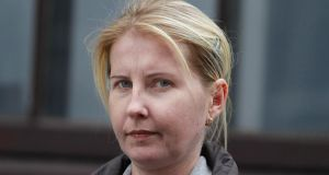 File photograph of Greta Dudko, of Station Court Hall, Clonsilla, Dublin who has pleaded not guilty to murder but guilty to the manslaughter of Anna Butautiene (56)  on December 24th, 2010.Photogrpah: Paddy Cummins/Collins Courts