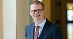 Simon Hamilton, who has been appointed the new Minister of Finance and Personnel for Northern Ireland