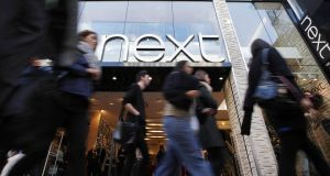 Next raised its profit expectations for the year after sales growth accelerated in Q2. Photo: Bloomberg