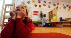 From tomorrow, anyone who cannot find a suitable childcare space in Germany for their under-threes within 5km of their home can sue their local authority  to secure one. Photograph: Reuters