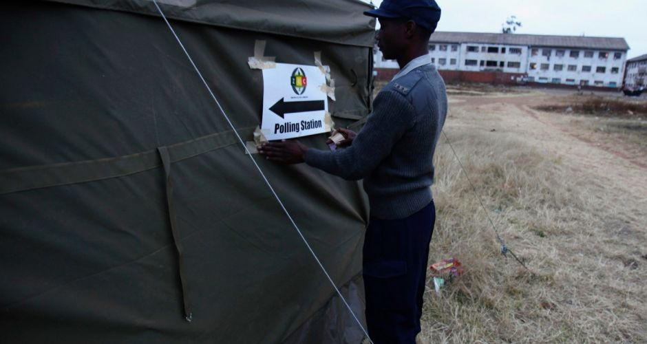 Zimbabweans take to the polls