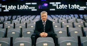 Pat Kenny in the Late Late show studio