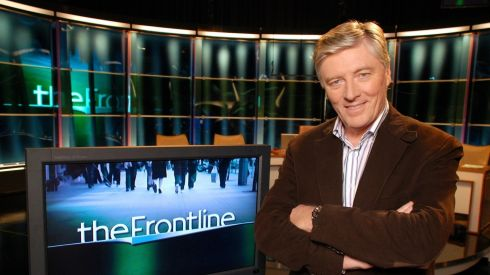 Pat Kenny began presenting current affairs television show The Frontline in 2009. Photograph: RTE
