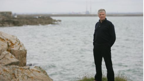 Pat Kenny at Dublin bay in 2009. Photograph: Bryan O'Brien/The Irish Times