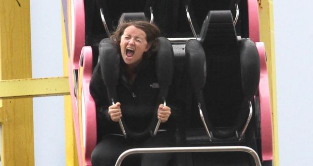 Una Mullally was treated by Jason on her fear of rollercoasters.