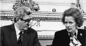 "Garret FitzGerald  and  Margaret Thatcher: Thatcher did agree to see FitzGerald  the Taoiseach  in Brussels in March 1983. Privately she was insistent  that  this ""must not be a formal meeting"" and said  that  she could  only  spare 20-30 minutes"