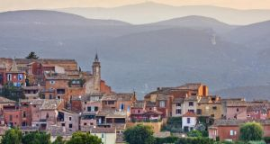 The village of Roussillon in the Luberon. Photograph: Getty Images