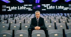 Chewed up, spat out, Friday after Friday: Pat Kenny in the Late Late Show studio