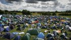 File photograph of the camping ground at the Oxegen Music festival which takes place in Punchestown over the weekend. Photograph: Alan Betson/The Irish Times