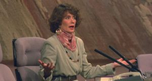 Revelation: Annie Murphy on The Late Late Show in 1993. Photograph: RTÉ