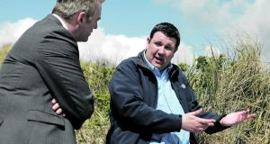 Telling his story: Peter Murphy with Donal McIntyre of TV3