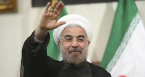 Iran's state media has sought to  play down reports that incoming president Hassan Rouhani called Israel 'a wound on the Muslim world'. Photograph: Reuters.