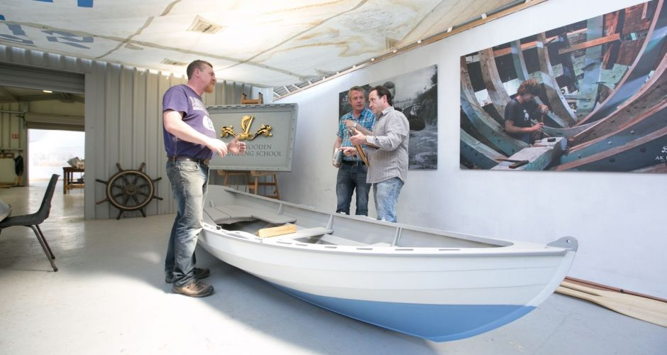 Pushing the boat out: traditional boat building in Ireland