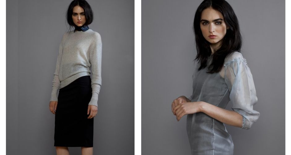 On the rails: Lennon Courtney's latest collection.
