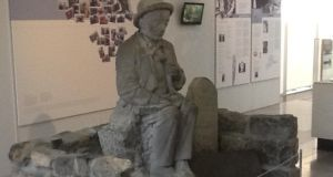 'Head and shoulders deftly reunited, Ó Conaire now reposes in the safe surrounds of Galway City Museum, free from the depredations of the inebriated.'