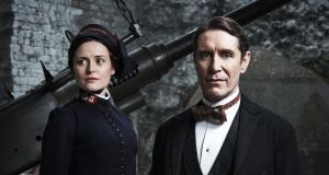 Clare Dunne and Paul McGann in the Abbey Theatre's Major Barbara. Photograph: Ros Kavanagh