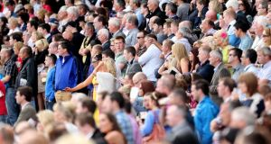 Galway races draw to a close tomorrow  after a week noted  for the absence of politicians. Photograph:  James Crombie/Info