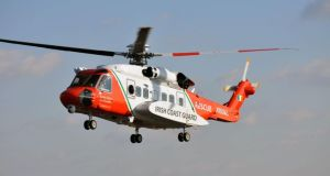 The Shannon-based Coast Guard helicopter responded to a request for help from a Spanish registered fishing vessel.