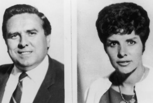 Photos issued by Scotland Yard, 12th September 1963, of great train robber Buster Edwards (1932 - 1994) and his wife June in the aftermath of the 2.6 million pound train robbery committed on 8 August 1963. (Photo by Keystone/Hulton Archive/Getty Images)