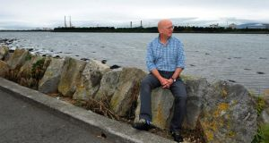 Home body: Roddy Doyle in Clontarf, in north Dublin. Photograph: Aidan Crawley