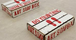 Art Soapbox by Bob and Roberta Smith