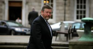 Dr James Reilly: he steered clear of the controversy yesterday, saying it would not be appropriate to comment when the hospital board had yet to discuss the issue. Photograph: David Sleator