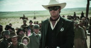 Armie Hammer turns heads in the Lone Ranger