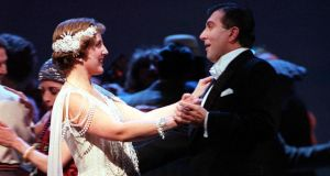 Above: Dawn Upshaw with Jerry Hadley in the Met's The Great Gatsby in 1999. Photograph: Sara Krulwich/The New York Times