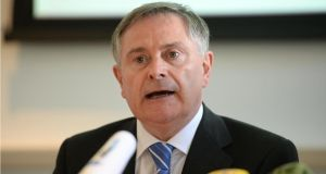 Minister for Public Expenditure Brendan Howlin has circulated a memo to the Cabinet arguing that the inquiry should be carried out by an ad hoc committee of TDs and Senators. Photograph: Dara Mac Dónaill