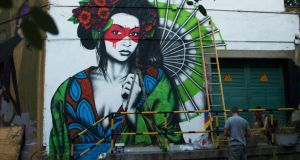 Fin DAC: beauty is at the heart of his new street-art aesthetic