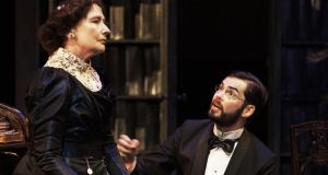 Eleanor Methven and Marty Rea in Major Barbara. Photograph: Ros Kavanagh
